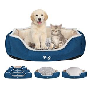 Kroser Bolster Dog Bed Medium Dogs