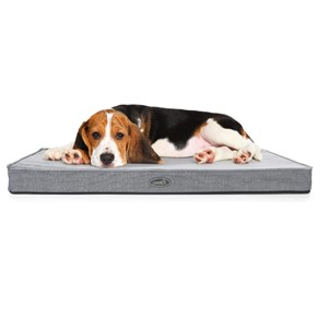 Pecute Rectangular Orthopedic Dog Bed