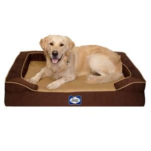Sealy Rectangular Orthopedic Dog Bed