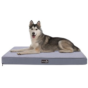 Senmipy Rectangular Orthopedic Dog Bed