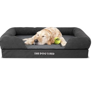 The Dog's Bed Bolster Orthopedic Dog Bed Small Dogs