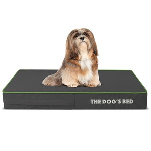 The Dog's Bed Rectangular Orthopedic Dog Bed Small Dogs