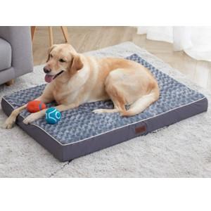 Western Home Rectangular Orthopedic Dog Bed