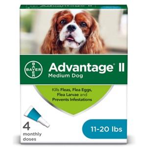 Advanate II Ear Mite Treatment 11-20 Lbs.