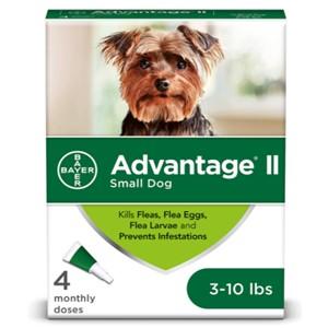 Advantage II Flea Lice Treatment 3-10 Lbs.