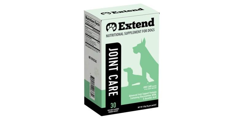 Extend Joint Care Supplement Header