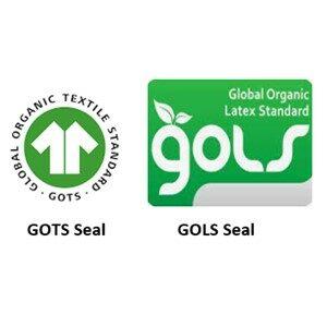 GOTS GOLS Organic Certification Seals
