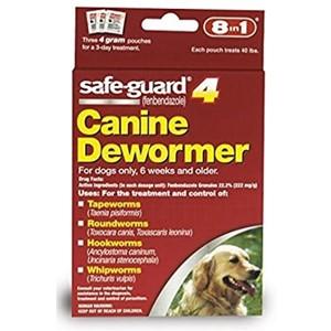 SafeGuard 4 Canine Dewormer