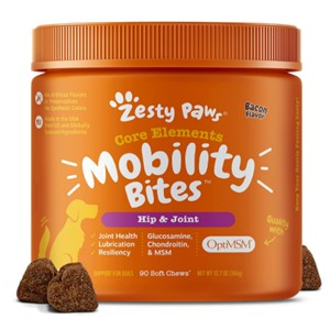 Zesty Paws Mobility Bites Hip Joint Supplement